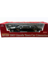 Sun Star black 2003 Lincoln Town Car Limousine DIECAST SCALE 1:18 - $127.50