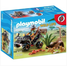 Playmobil Wildlife Evil Explorer and Quad with Pullback   #6939 - $15.83
