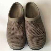 Merrell Womens Clogs Beige Mesh Flat Comfort Slip On  Casual Shoes 11 - $44.54