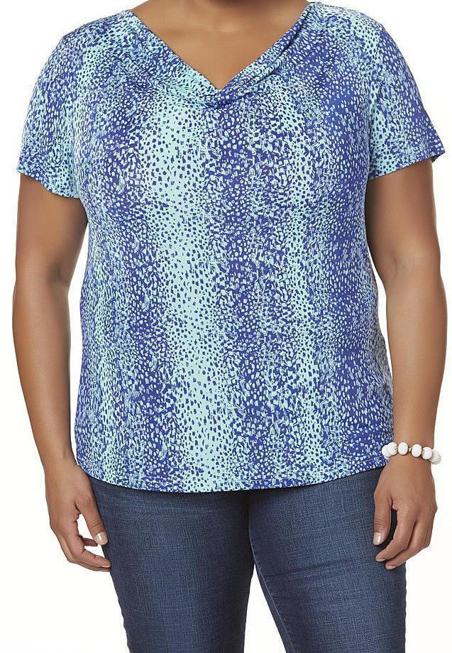 New Womens Plus Size 3x Jaclyn Smith Blue And 10 Similar Items