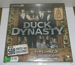 Cardinal New Factory Sealed Duck Dynasty Redneck Wisdom Board Game. - $22.46