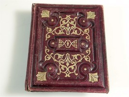 ANTIQUE PHOTO ALBUM VICTORIAN ERA MINIATURE  #231 - $282.15