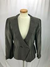 Giorgio Armani Black Label Women's Brown Blazer 50 US 14 - $69.99