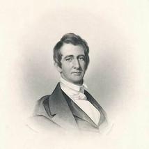 Autographs for Freedom 1854 William H. Seward intaglio portrait, JC Butt... - $36.00