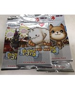 Maple Story P3ts 4-pack Booster Pack LOT For Card Game TCG CCG SEALED - $15.00