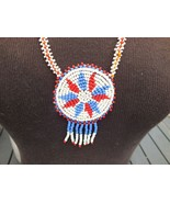 """Seed Bead Colorful Necklace, 22"""" Length - $18.00"""