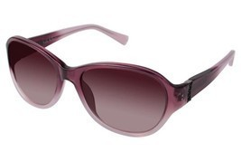 Authentic Nicole Miller Sunglasses Prince C03 Eggplant Fade Frames 58MM - $49.49