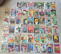 HUGE Lot of 52 Comic Books Marvel & DC Comics w/ Batman Superman Green L... - $445.49