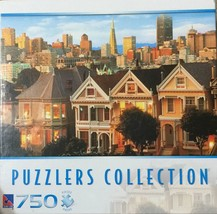 PUZZLERS COLLECTION 750 PIECE JIGSAW PUZZLE VICTORIAN HOUSES, SAN FRANCI... - $18.76
