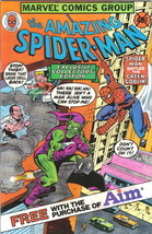 the Amazing Spider-Man Comic Book Aim Toothpaste Giveaway 1980 VFN/NM UNREAD - $10.69