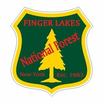 Finger Lakes National Forest Sticker R3232 New York You Choose Size - $1.45+