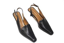 "Naturalizer Black Slingback Pumps 2.25"" Heel Women  Size 6M Comfortable - $35.99"
