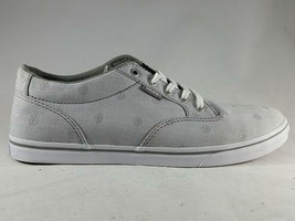 VANS Winston Gray Print Women's Athletic Sneakers Casual Oxfords Skate S... - $31.99