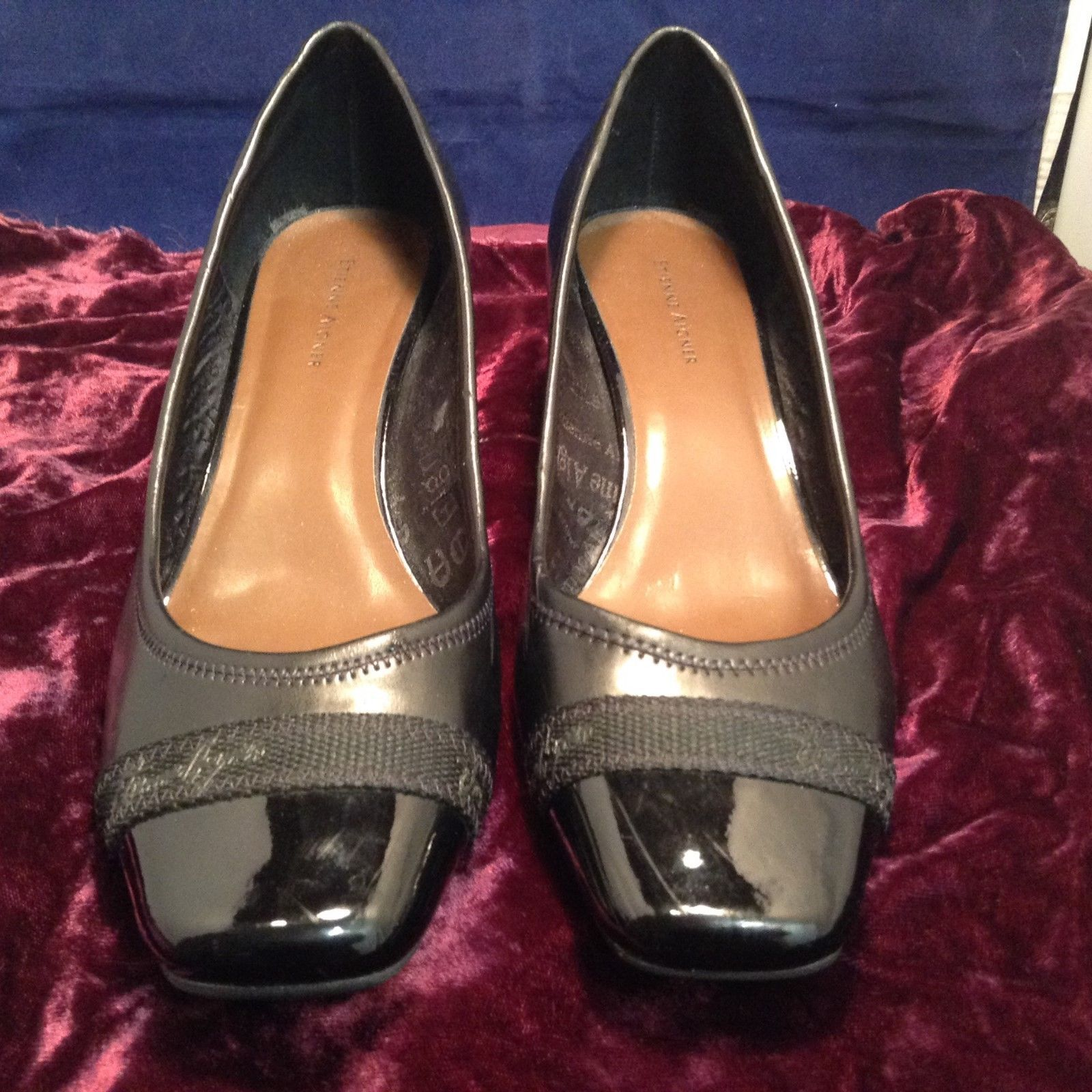Etienne Aigner Black Pumps w Medium Heel Sz 9.5M