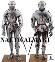 Medieval knight's SCA LARP Halloween reenactment full body suit of armor - $799.00