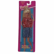 Mattel 1995 Barbie Fashion Favorites Red Bandana Print Outfit New Clothes - $11.26