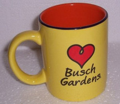 I Love Busch Gardens Jungle Yellow Souviner Coffee Novelty Collectible C... - $15.99