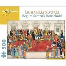 Muhammad A'zam Begum Samru's Household Ronni Madrid 500 piece Jigsaw Puz... - $27.23