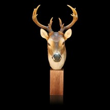Reindeer Head Elegant Resin Ornaments Home Decoration Simulated Animal E... - €59,09 EUR