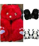 Plush Teddy Bears Slippers - £25.45 GBP
