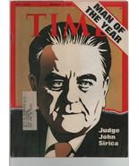 Time - January 7, 1974 - Man of the Year, Judge John Sirica, Watergate, ... - $4.40