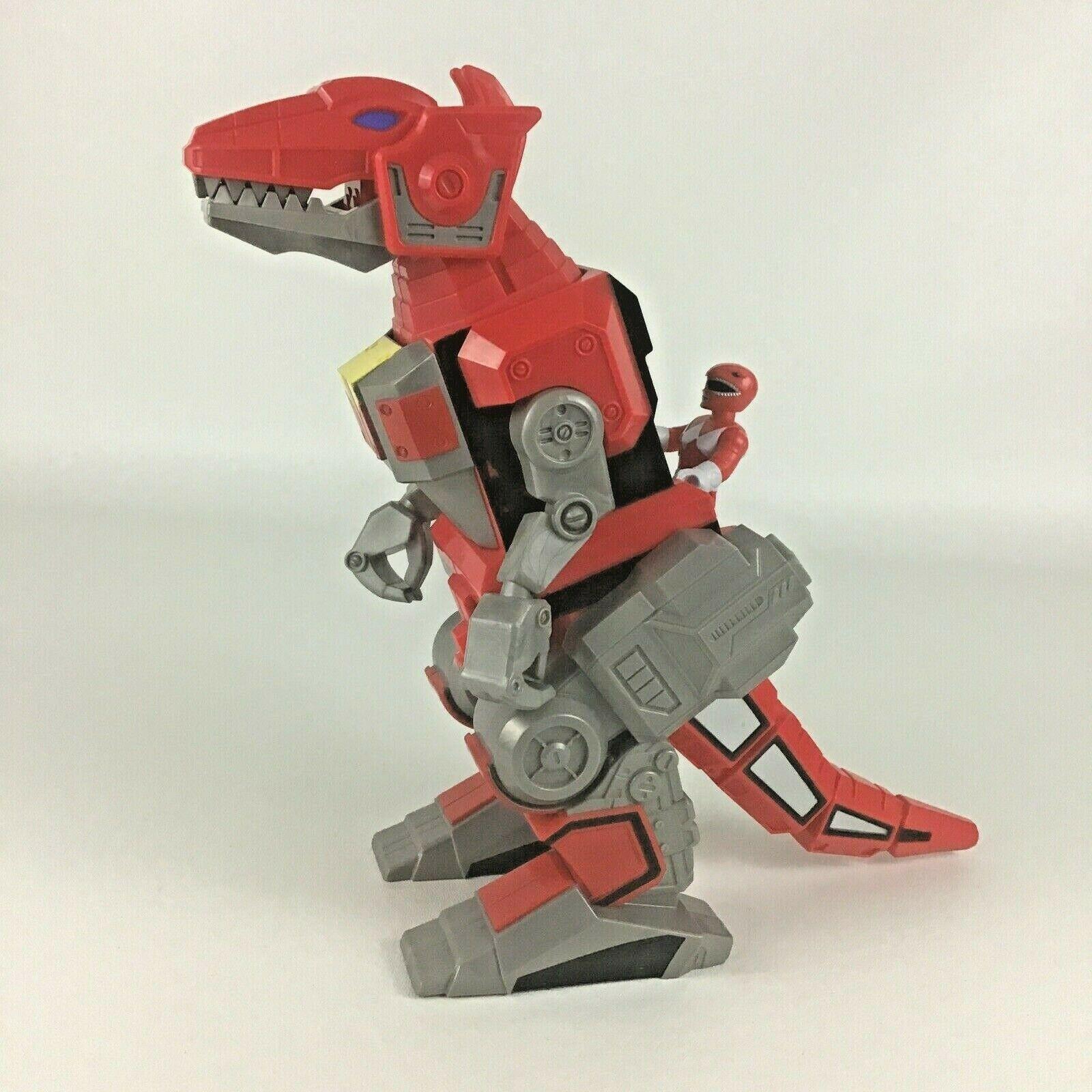 Imaginext Power Rangers T-Rex Zord Action Figure Red Ranger Dinozord 2015 Mattel - $89.05