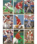 (19) 1994 Ultra Cincinnati Reds (19 Card Complete Team Set) See Scans! - $2.85