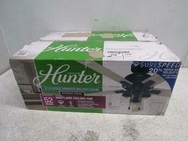 "Hunter 50310 Hartland Ceiling Fan, 52"", Indigo Blue - $204.44"