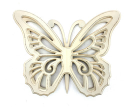 4.25 X 18.5 X 23.25 Light Yellow Rustic Butterfly Wooden Wall Decor - $93.33