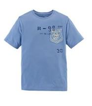 Ralph Lauren Boys' Childrenswear Jersey Graphic Tee, Blue, Size L (14-16) - $19.79