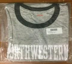 NEW NCAA Tomboy Women's Northwestern Wildcats Purple Pride Ringer Tee - Medium - $12.97
