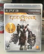 God Of War Saga Dual Pack (PlayStation 3, 2012)  - $14.06
