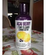 RX Select Nutraceuticals Acai Berry 2 Day Cleanse lemon Detox 32 oz New ... - $19.99