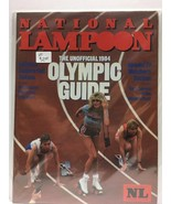 NATIONAL LAMPOON MAGAZINE : August 1984 (VF) Olmypic Guide, Humor Comedy - $14.20