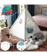 MIKA BABY Play Tent Teepee Tent for Kids Pop Up Foldable Playhouse Toy f... - $37.19