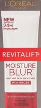 L'Oreal Paris RevitaLift Moisture Blur Instant Skin Smoother Moisturizer 1.7 oz - $7.91