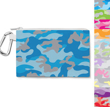 Colored Camouflage Canvas Zip Pouch - $15.99+