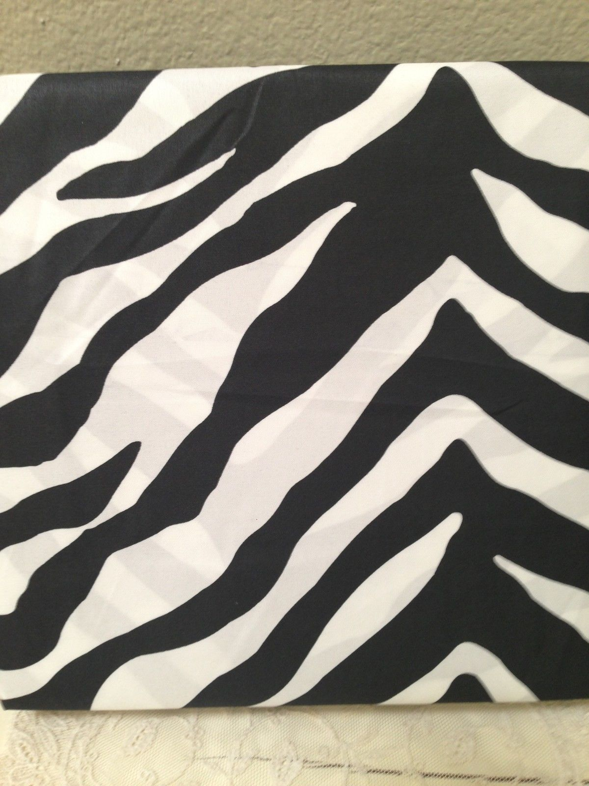 Cynthia Rowley BLACK & WHITE ZEBRA STRIPES TWIN SHEET SET 3PC NIP