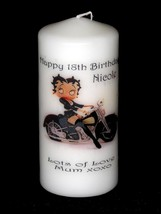 BETTY BOOP 18th - 60th   BIRTHDAY  Personalised Gift Unique #1 - $19.79