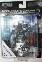 Gundam Mobile Suits 3 RX-78-2 Bandai Ultimate Operation 2003 Fusion Work... - $25.42