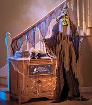 6-Ft. Standing Wicked Witch Halloween Props Party Decoration Her Eyes Li... - $47.52