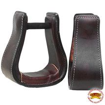 Horse Western Saddle Stirrup Wide Roping Stirrups Pair U-T123 - $64.95