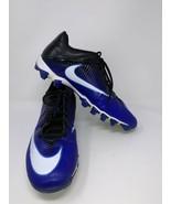Nike Men's Vapor Shark II 2 Football Shoes Sneakers Cleats 13.5 Blue 833... - $29.69