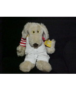 """18"""" Vintage Le Mutt Floppy Plush Toy With Outfit & Tags 1980 Francesca H... - $163.61"""