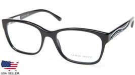 NEW GIORGIO ARMANI AR 7013-B 5017 BLACK EYEGLASSES FRAME 53-17-140 B40mm... - $53.88