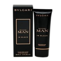 Bvlgari Man In Black After Shave Balm 100 ML/3.4 Fl.Oz. NIB-BV10035780 - $37.13