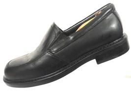 Dockers Waterproof Men's 12M Black Leather Slip-On Loafer Stretch Gore A... - $26.13