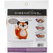 Dimensions Feltworks Needle Felting Kit-Fox - $14.39
