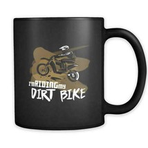 Dirt Bike Coffee Tea Drink Mug Ceramic Funny Cute Cup Gift Holiday Speci... - £10.06 GBP