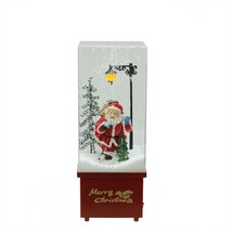 NEW! Christmas Table Top Snow Dome Lighted Musical Santa Claus    - $138.52
